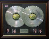 THE BEATLES - The White Album - Dble LP Platinum Disc & pics